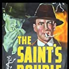 George Sanders, Jonathan Hale, and Helene Reynolds in The Saint's Double Trouble (1940)