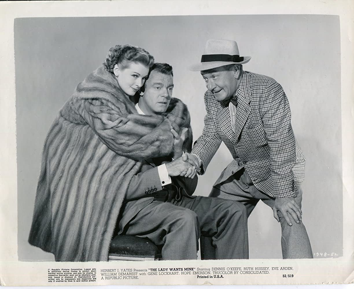 Classic Old Movie : The Lady Wants Mink 1953