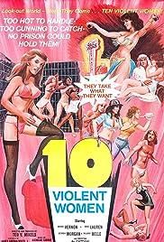 Ten Violent Women(1982) Poster - Movie Forum, Cast, Reviews
