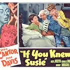 Eddie Cantor, Joan Davis, and Bobby Driscoll in If You Knew Susie (1948)