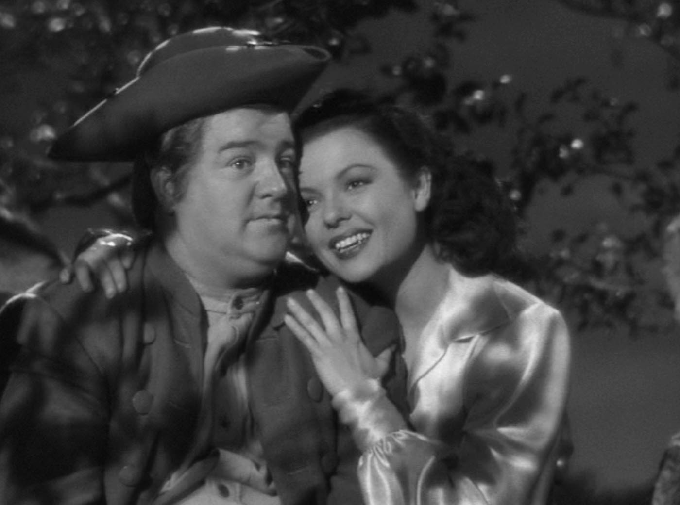 Lou Costello and Marjorie Reynolds in The Time of Their Lives (1946)