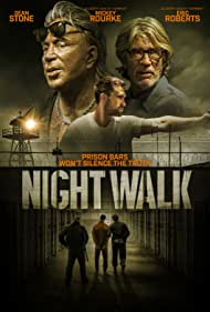 Eric Roberts, Mickey Rourke, and Sean Stone in Night Walk (2019)