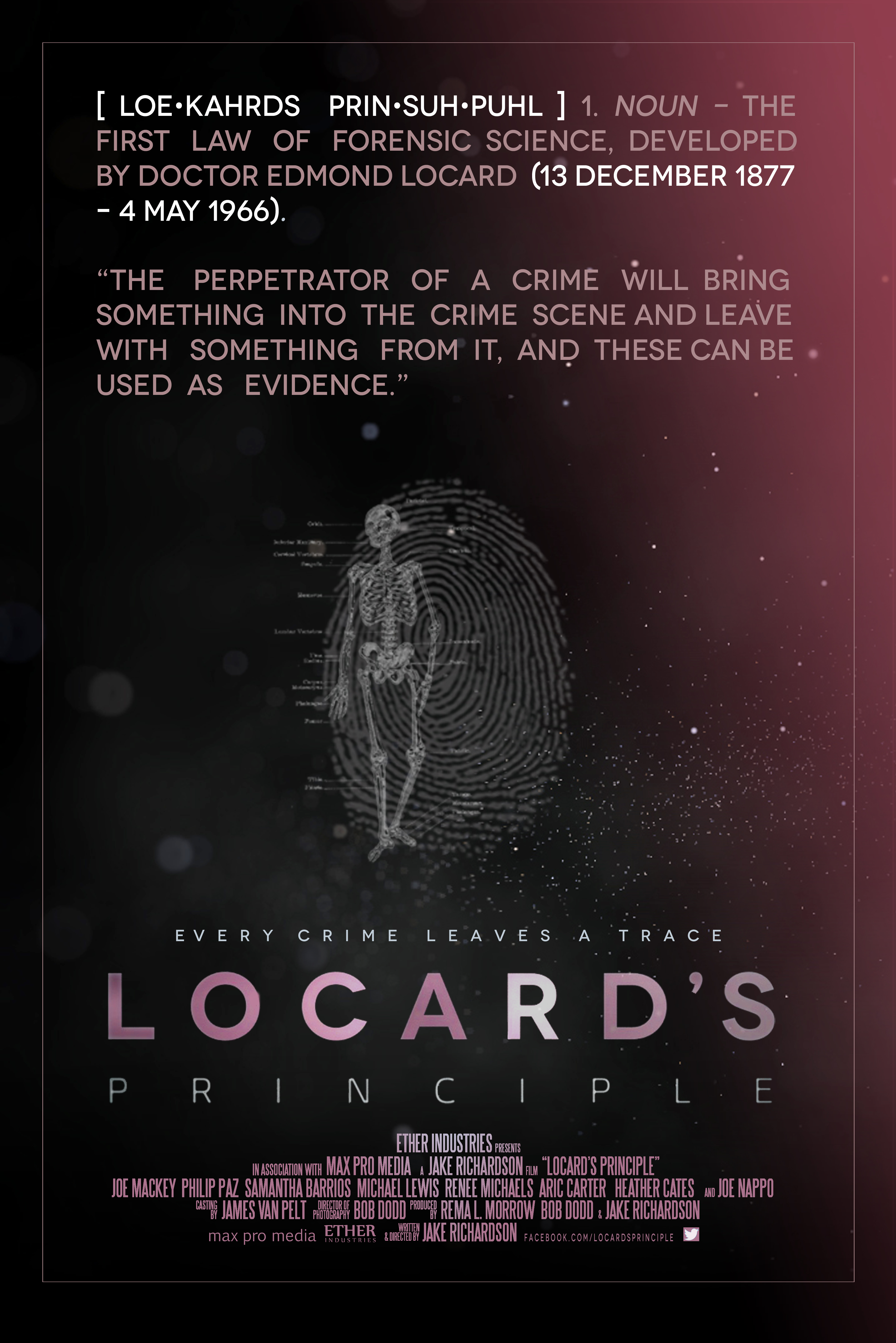 Locard S Principle Imdb