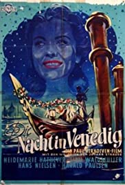 The Night in Venice Poster