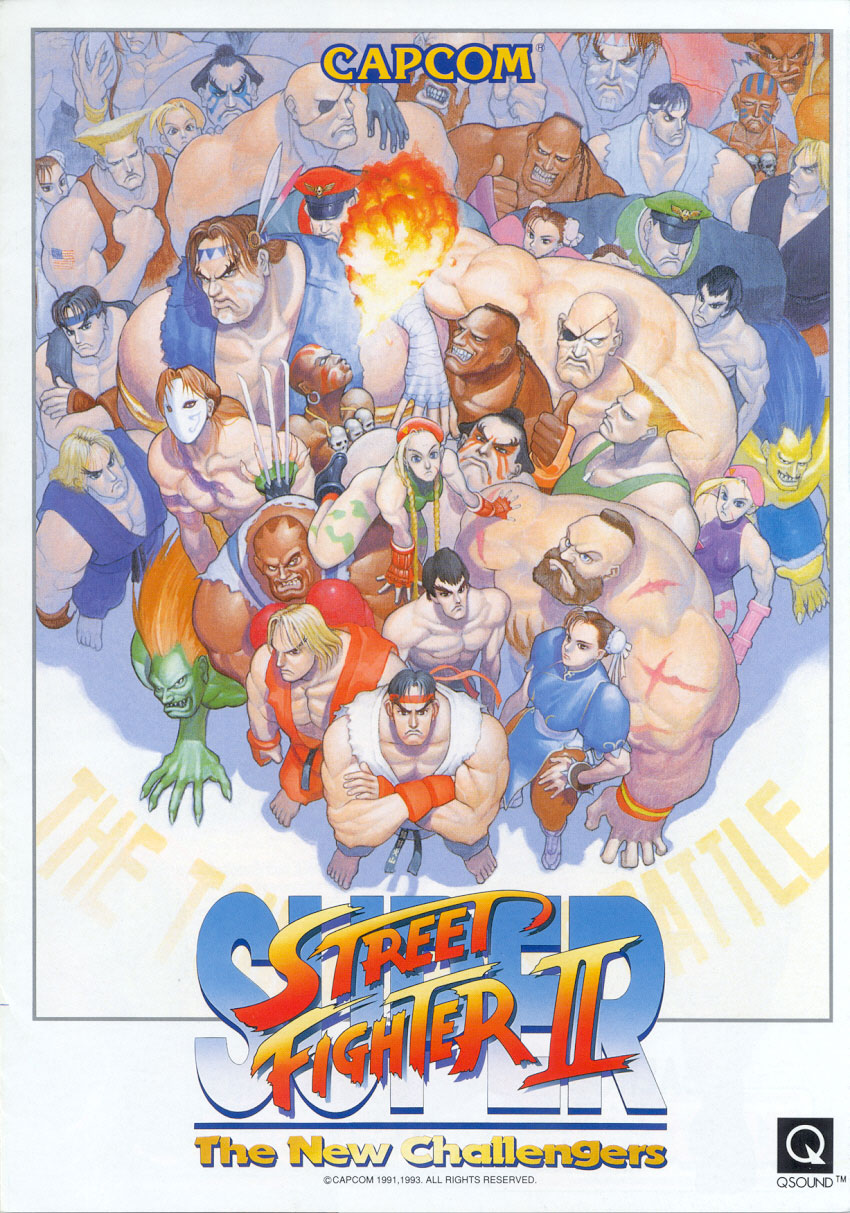 Super Street Fighter Ii The New Challengers Video Game 1993 Imdb