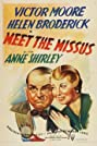Meet the Missus (1937) Poster