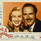 Veronica Lake and Patric Knowles in Isn't It Romantic (1948)