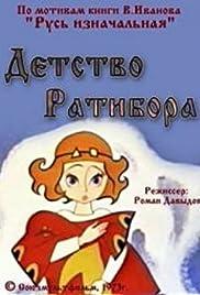 Detstvo Ratibora Poster