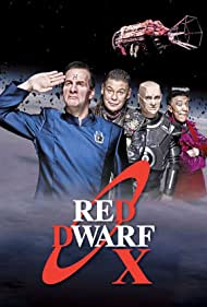 Chris Barrie, Craig Charles, Danny John-Jules, and Robert Llewellyn in Red Dwarf (1988)