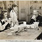 Charles Coburn, Betty Brewer, and Marguerite Chapman in My Kingdom for a Cook (1943)
