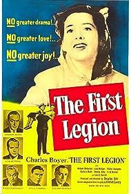 Charles Boyer, Leo G. Carroll, Lyle Bettger, William Demarest, Walter Hampden, Emmet Lavery, Barbara Rush, Douglas Sirk, and H.B. Warner in The First Legion (1951)