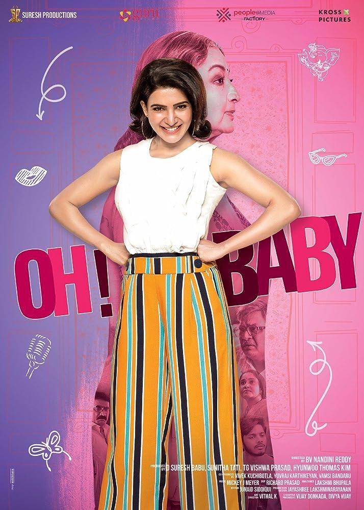 OH! BABY (2019) Telugu 400MB Proper TRUE WEB-DL 480P ESub