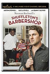 Danny Glover, Kayla Ewell, Austin Stowell, and Bryant Prince in Shuffleton's Barbershop (2013)