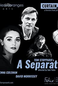 David Morrissey, Ed Stoppard, Denise Gough, Jenna Coleman, Maggie Service, and Sam Yates in A Separate Peace (2020)