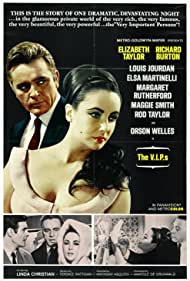 Richard Burton, Elizabeth Taylor, and Louis Jourdan in The V.I.P.s (1963)
