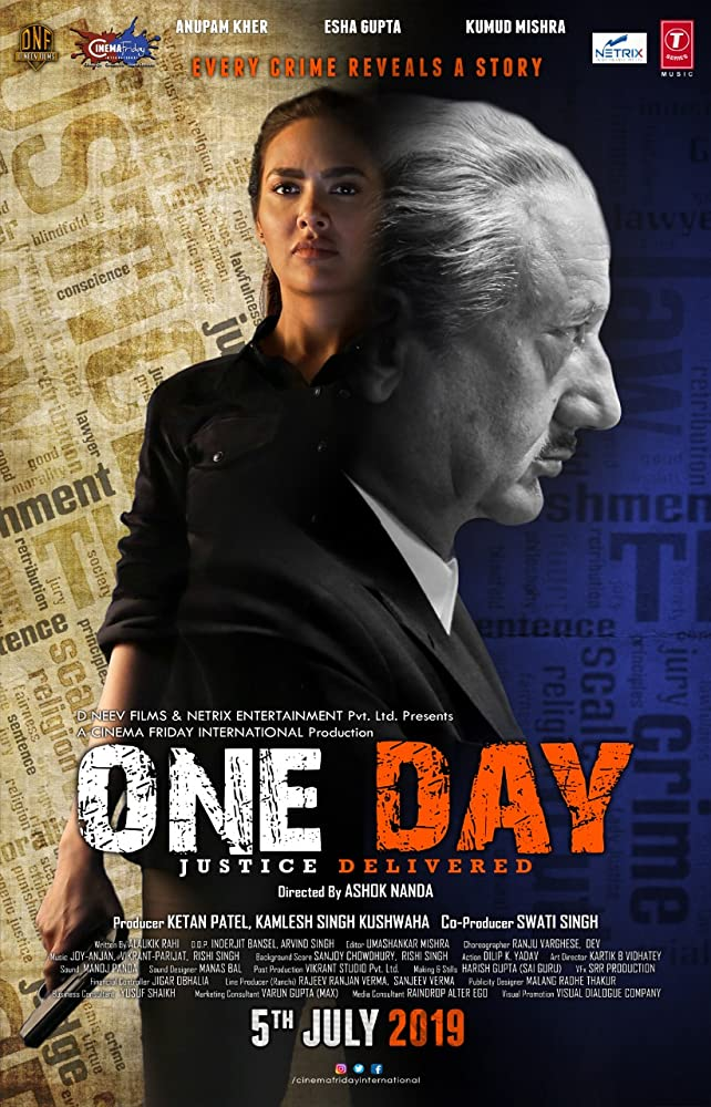 One Day: Justice Delivered (2019) Hindi