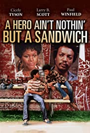 A Hero Ain't Nothin' But a Sandwich Poster