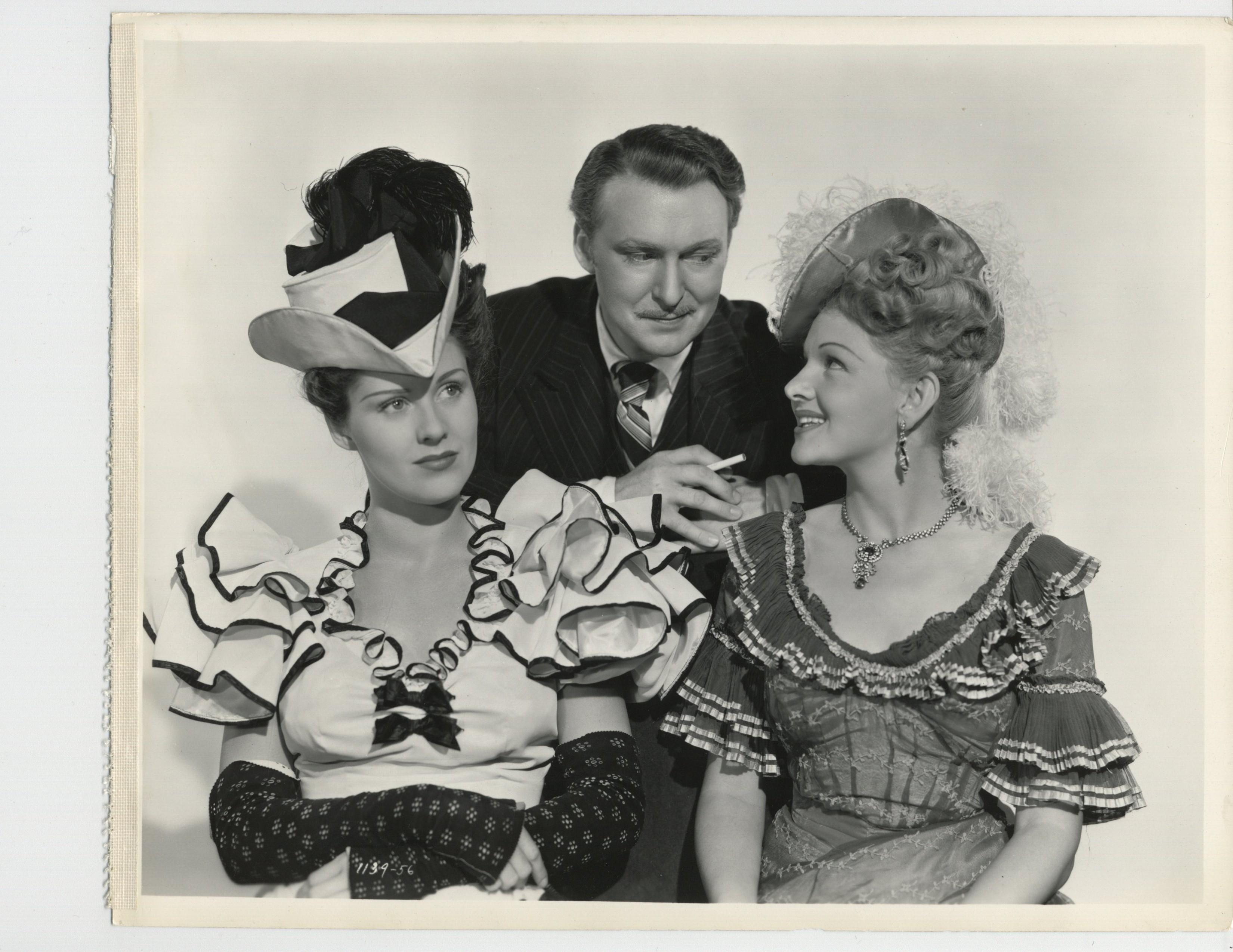 Binnie Barnes, Albert Dekker, and Helen Parrish in In Old California (1942)