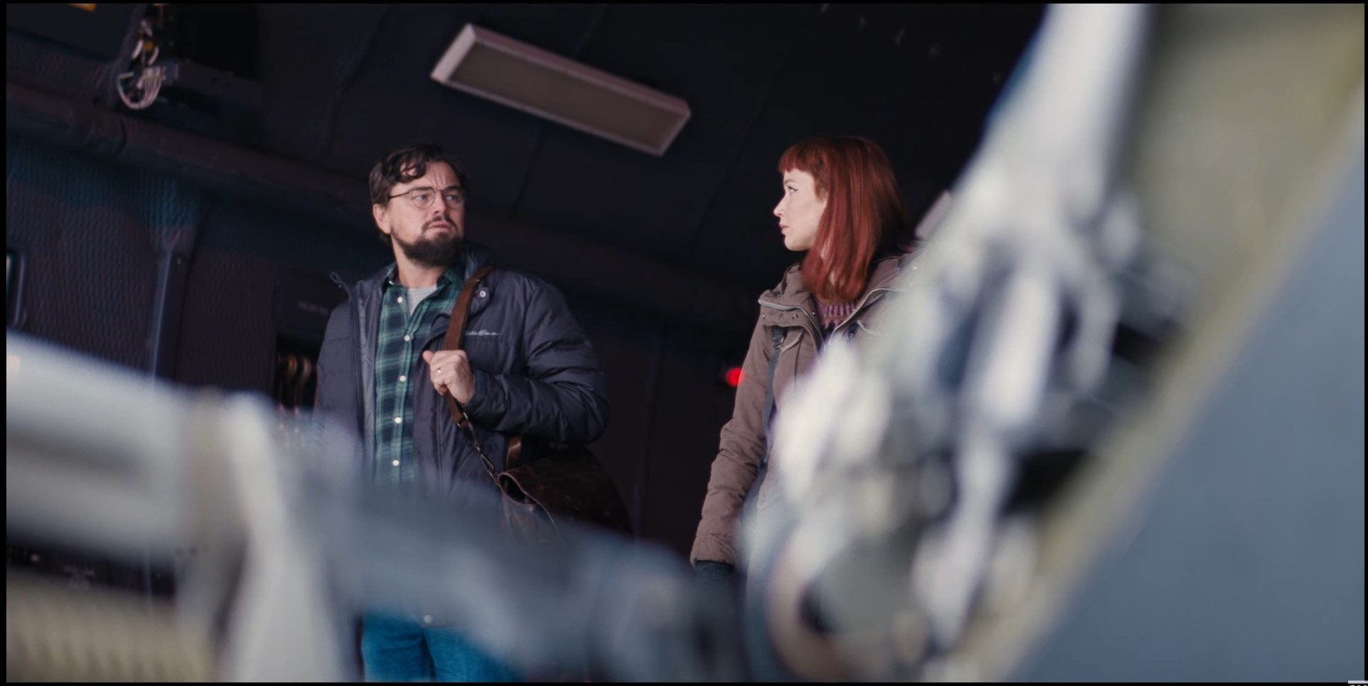 Leonardo DiCaprio and Jennifer Lawrence in Don't Look Up (2021)