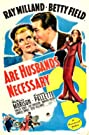 Are Husbands Necessary? (1942) Poster