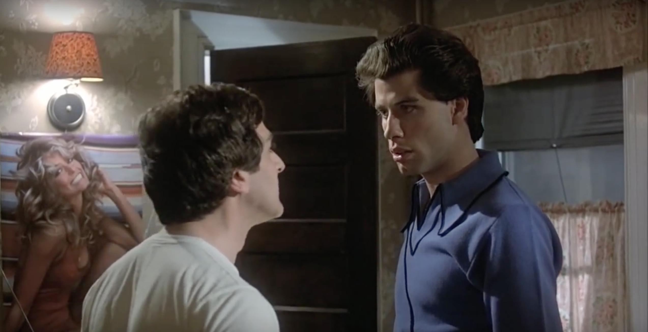 John Travolta and Martin Shakar in Saturday Night Fever (1977)