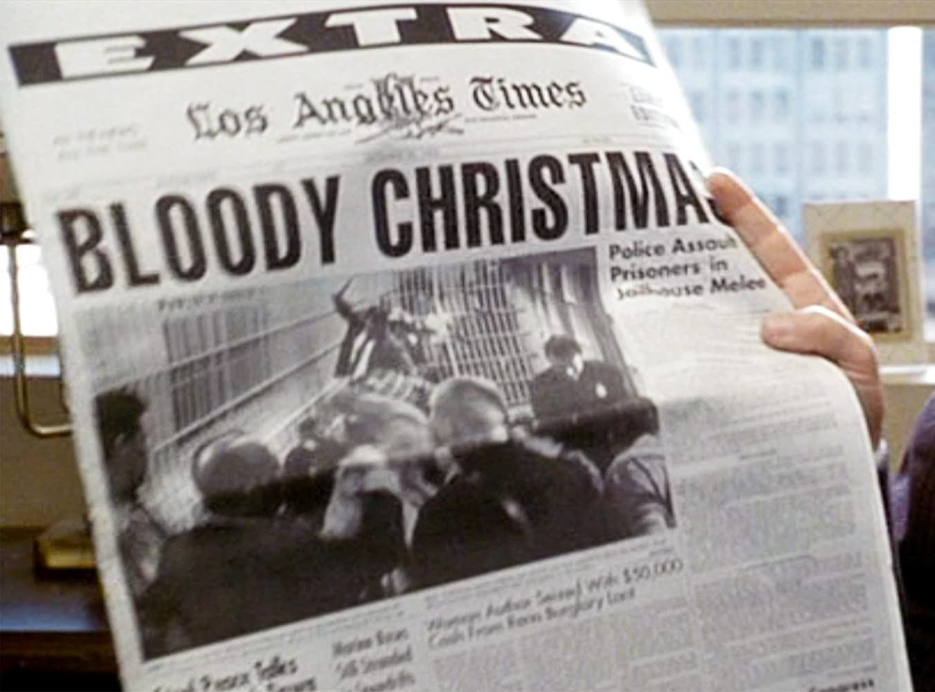 Bloody Christmas Lapd.Movie And Tv Office Parties Gone Bad