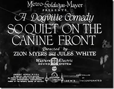 Websites for downloading hd mp4 movies So Quiet on the Canine Front USA [Bluray]
