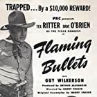 Charles King, Dave O'Brien, Tex Ritter, and Guy Wilkerson in Flaming Bullets (1945)