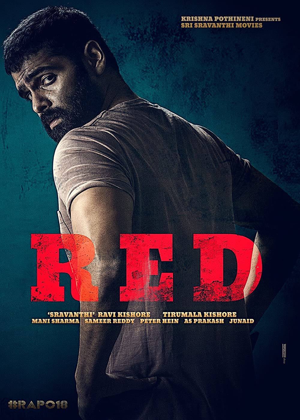 Download RED 2021 Telugu 720p HDRip ESubs 1.4GB