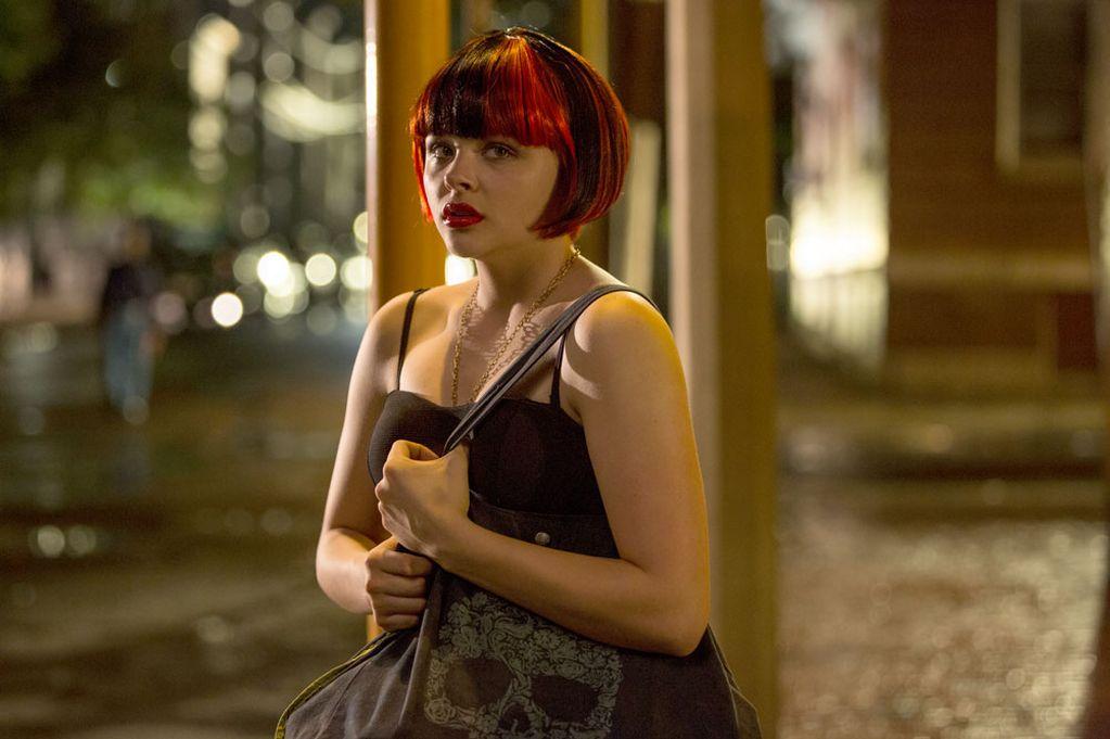 Chloë Grace Moretz dalam film The Equalizer (2014)