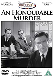 An Honourable Murder Poster