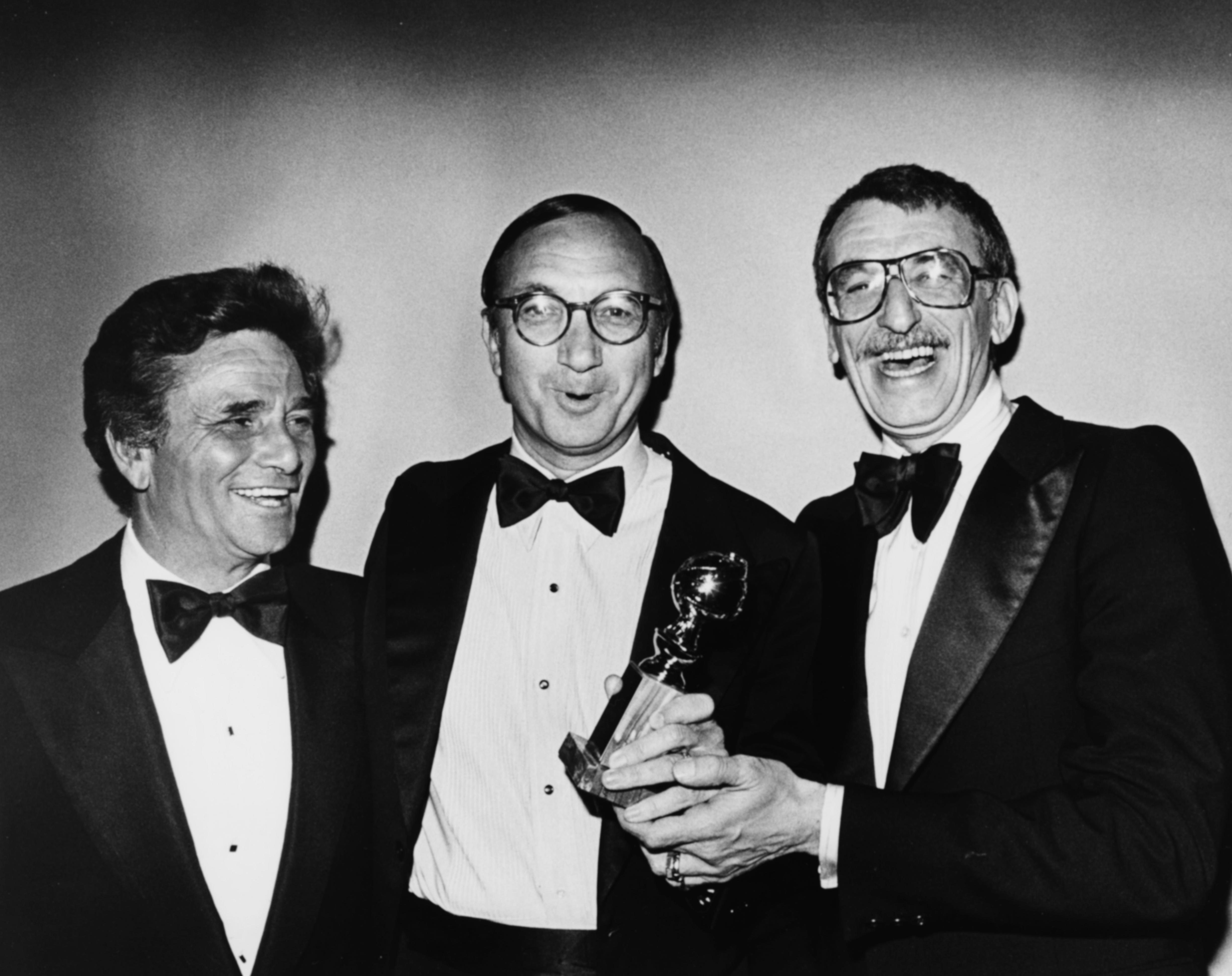 Peter Falk, Herbert Ross, and Neil Simon