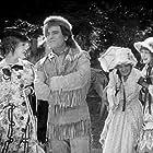 Douglas Fairbanks and Jewel Carmen in The Half-Breed (1916)