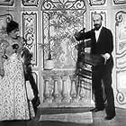 Jehanne d'Alcy and Georges Méliès in Escamotage d'une dame au théâtre Robert Houdin (1896)