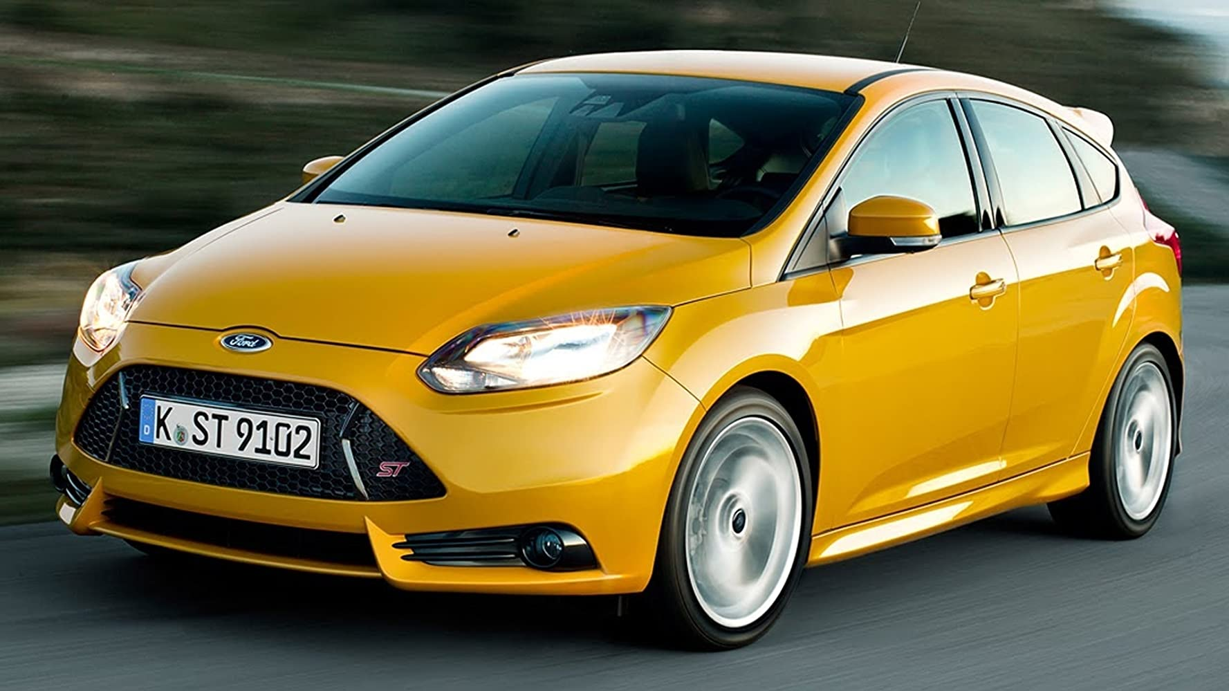 2013 Ford Focus St The Hottest Hatch 2012