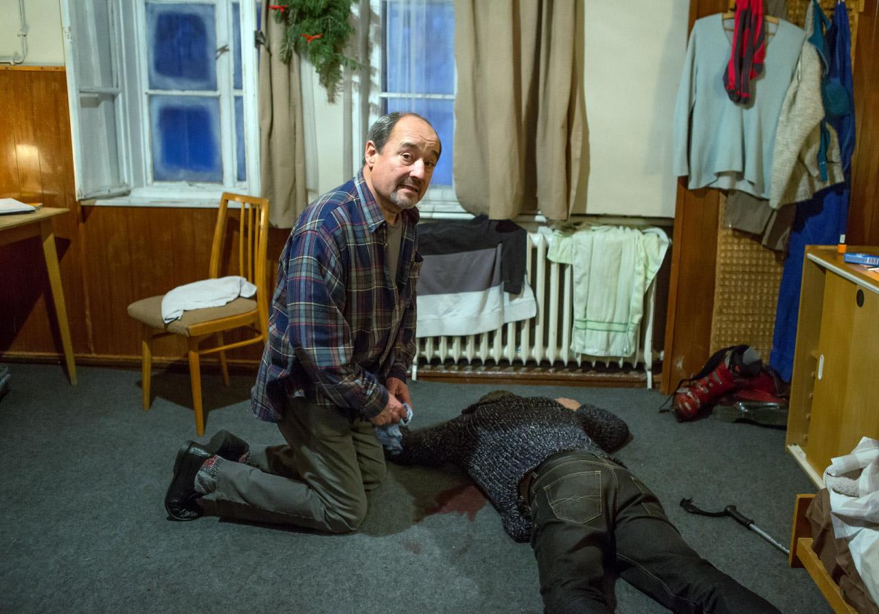 Viktor Preiss in Prípad pro lyzare (2016)
