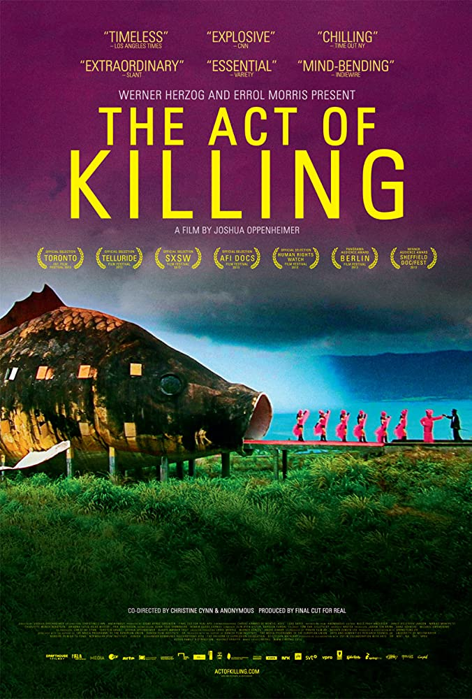 Poster film dokumenter The Act o Killing (2012)