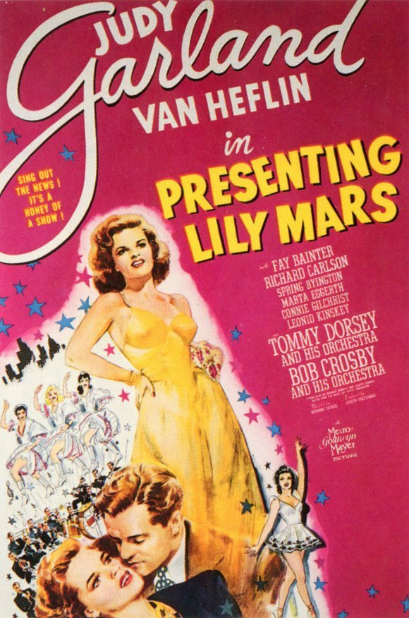 Judy Garland and Van Heflin in Presenting Lily Mars (1943)