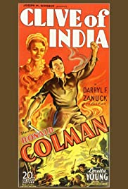 Clive of India (1935) Poster - Movie Forum, Cast, Reviews