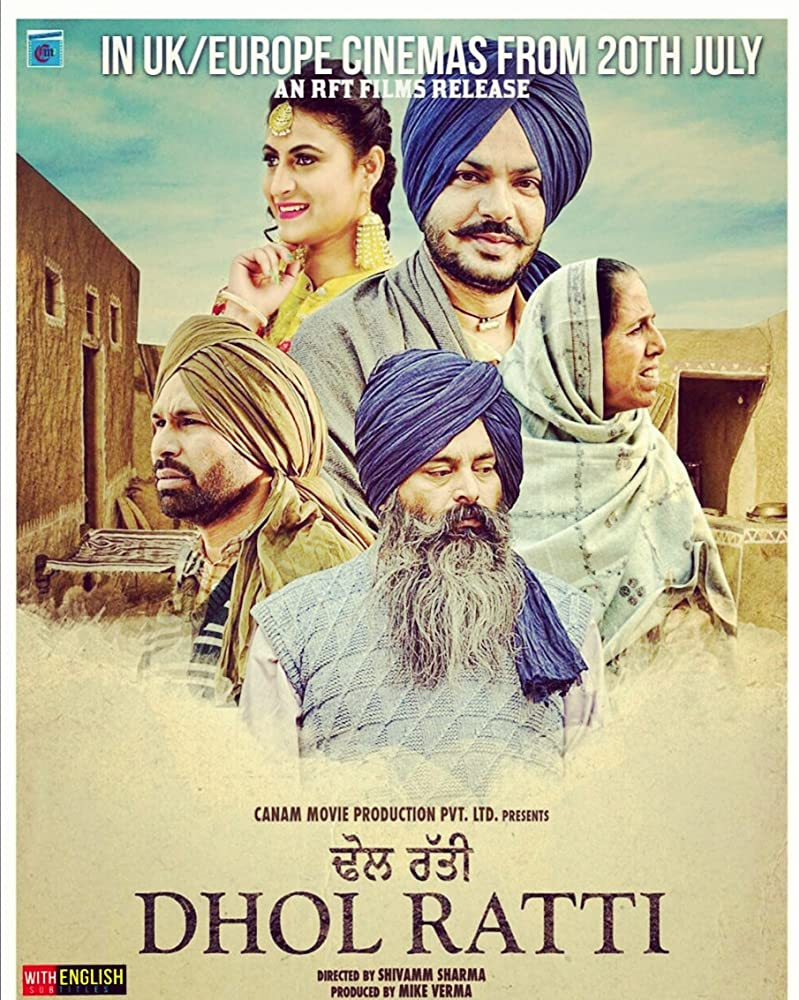 Dhol Ratti (2018) Punjabi Movie 720p HDRip 800MB