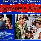 Klaus Kinski, Romy Schneider, and Fabio Testi in L'important c'est d'aimer (1975)