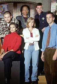 Dana Ashbrook, Nia Peeples, Clifton Collins Jr., Kellie Martin, Tina Lifford, and Matt Roth in Crisis Center (1997)
