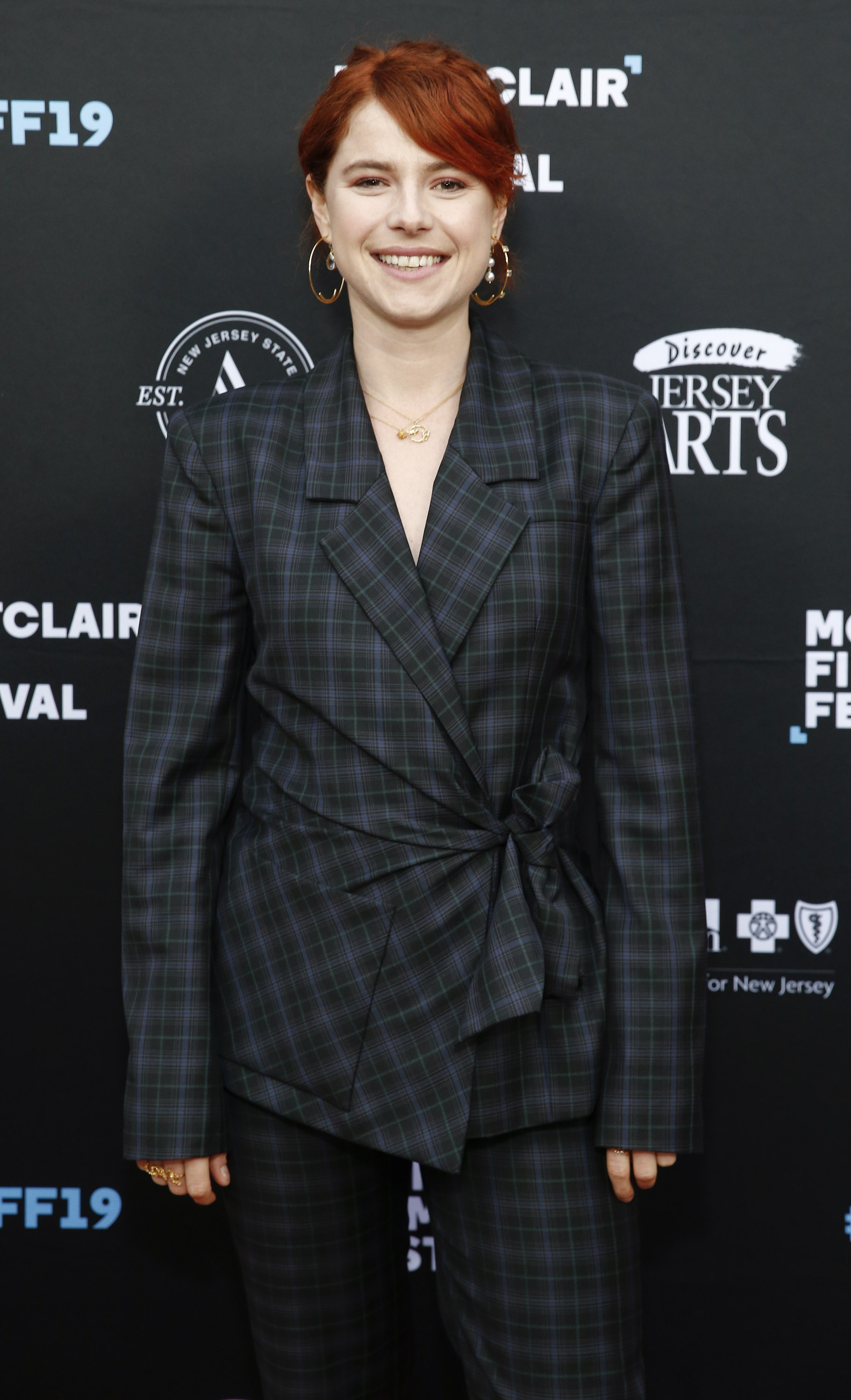 Jessie Buckley at an event for Wild Rose (2018)
