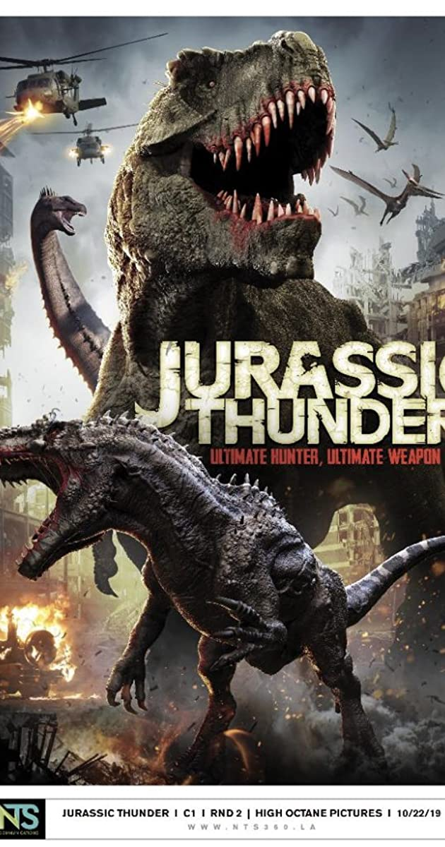 Subtitle of Jurassic Thunder