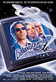 Sigourney Weaver, Alan Rickman, and Tim Allen in Galaxy Quest (1999)