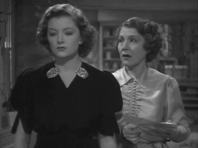 Myrna Loy and Nana Bryant in Man-Proof (1938)