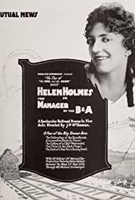 Helen Holmes in The Manager of the B & A (1916)