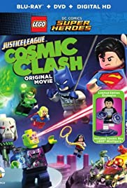 Lego DC Comics Super Heroes: Justice League - Cosmic Clash Poster