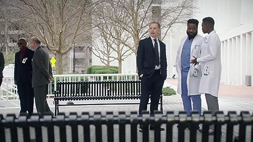 The Resident: Bell, Mina, & Austin Wait For Dr. Josephine Okeke