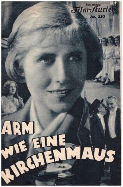 Arm Wie Eine Kirchenmaus 1931